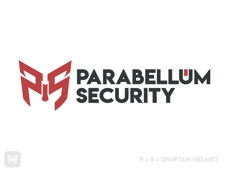 Parabellum Security Logo Design By Designrar spartan logo spartan offensive evil shield logo logomark bold font red and black red dark web logo hacker hacking cyber monday cyber cybersecurity security app security system security logo security