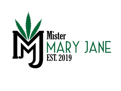 Vintage Logo Example: Mister Mary Jane Cannabis & Weed Logo