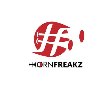 Hornfreakz Logo Design By Designrar: Minimalist, HF Initials