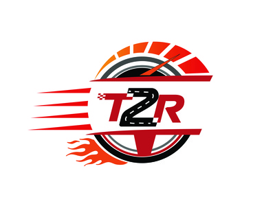 Turn2Racing Sport Logo Made By Designrar - Versatile (Initials)