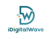 iDigitalWave Minimalist/flat Logo Design - Concept 2 - Accepted