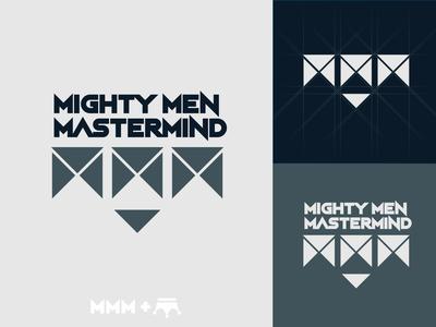Mighty Men Mastermind Logo Design Initial Concept