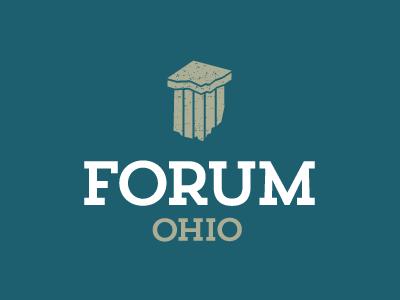 Forum Ohio logo logo vector illustration ohio