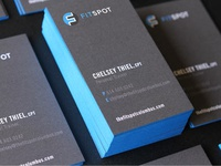 Fit Spot Business Cards