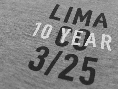 Lima Shirt tshirt typography