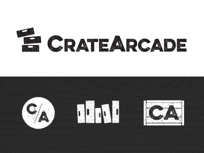 CrateArcade branding logo
