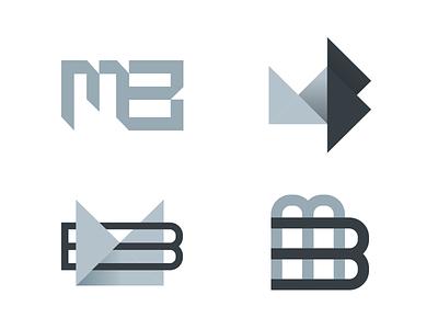 Logo  mark vector branding letters logo