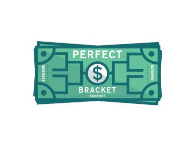 Perfect Bracket Contest wip illustration bracket
