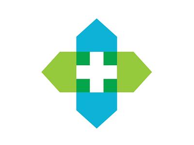 Home visiting physician icon vector medical logo