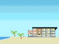 Nearsoft office pixel art