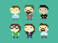 Nearsoft Design Team Pixel Art