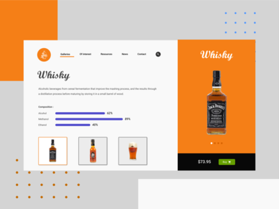whisky concept
