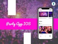 Party app IOS