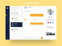 Chat Desktop App