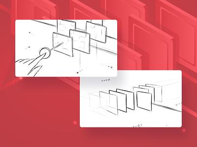 Tech Stack - Blog illustration gradient switch hand revenue ott future technology tech graphic design adobe illustrator illustrator illustration