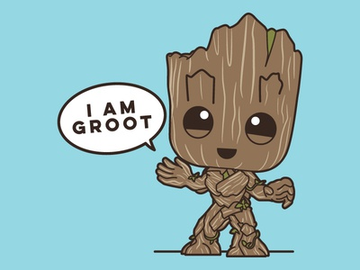 I Am Groot Official Tomukas' Idio...