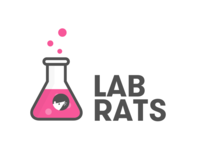 Lab Rats branding