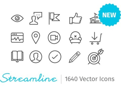 Streamline Essential - 2000 icons social media startup icon icons icons design icon graphic design flat icons design dashboard branding