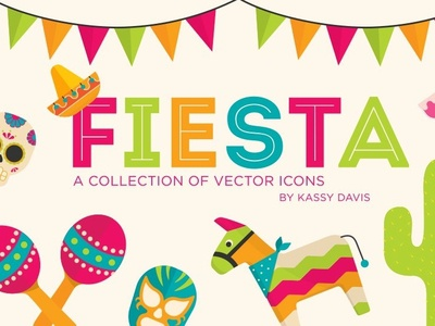 Fiesta Vector Icon Collection