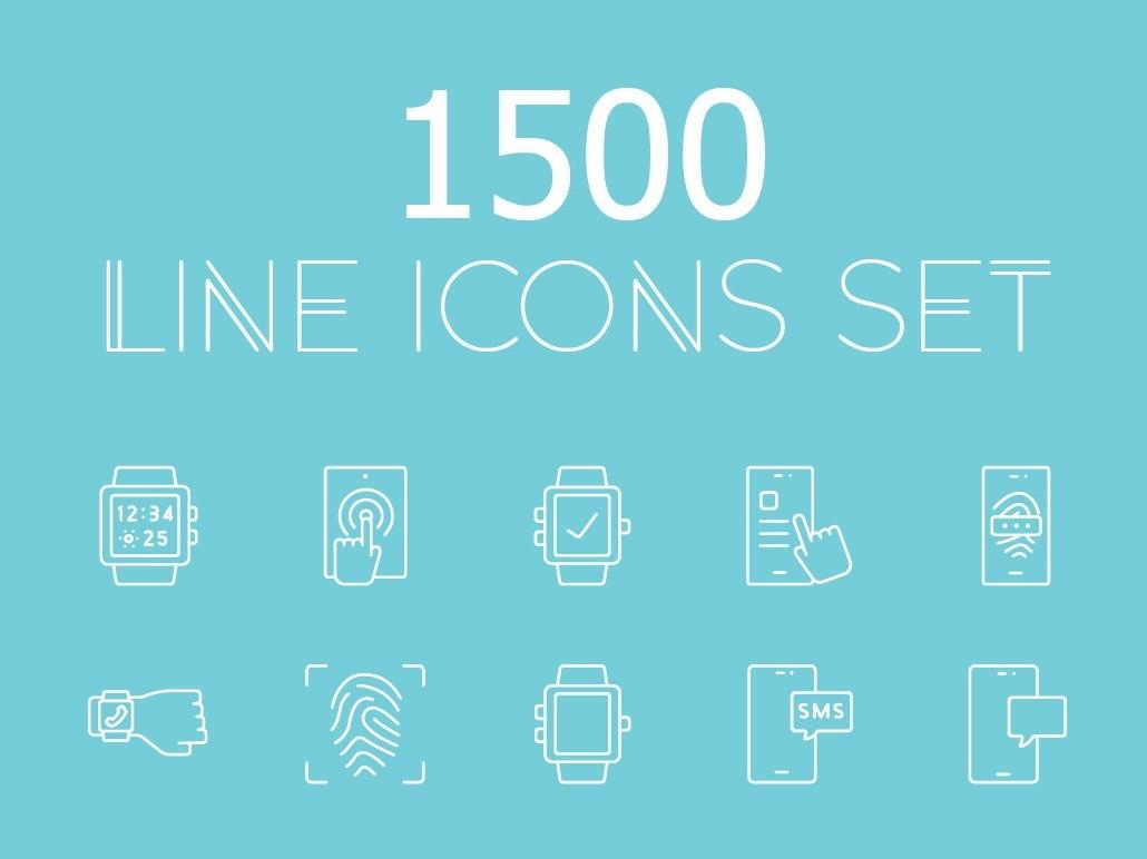 1500 vector line icons pack! icon set line logo design logo branding flat startup icon startup social media logo icons design icons icon graphic design flat icons design dashboard branding