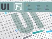 UI 700+ Line Icons Bundle