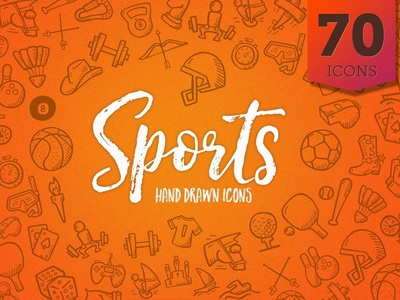 Sports - Hand Drawn Icons