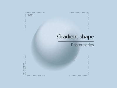Gradient shape 2d design gradient geometric minimal illustration art adobe photoshop adobe illustrator poster design poster