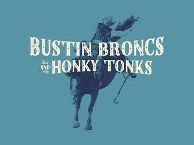 Dale Brisby Apparel Design western cowboy graphic tshirt design vintage typography illustration type branding apparel
