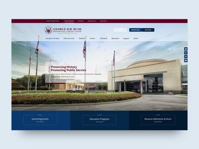 George H W Bush Library Homepage