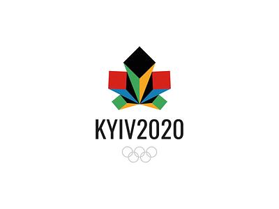 Olympic Games in Kyiv chestnut olympic games logo designer logos logo design branding brand designer логотип лого logo nazariy dudnik logotype