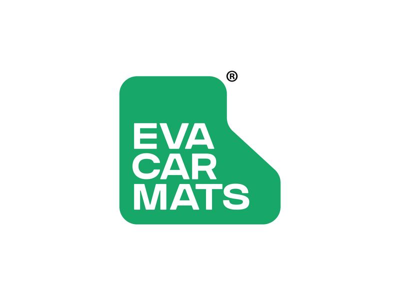 EvaCarMats letter creative logo автомобильный лого logo awesome mark symbol car mats logo car mats eva car mats car logo branding logo design лого logo logotype