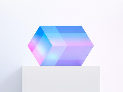 Glass Shader Test 3d artist blender 3d colorful glass cycles render fluent design shader glass lightning render blender3d