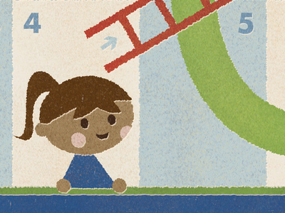 Chutes and Ladders chutes and ladders board game illustration united way