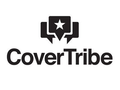 Cover Tribe Logo icon cover tribe graphic design typography star music identity branding brand design brand logo design logo