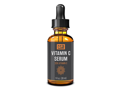 Vitamin C Serum Label Design vitamin c dropper label design label print design print packaging design packaging minimalist graphic design design branding