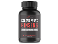 Korean Panax Ginseng Label Design