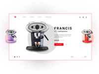 iperEspresso Machine Francis