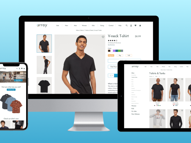 Array: An e-commerce experience built for the in-store shopper