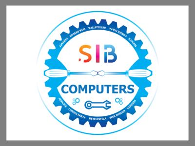 SIB Computers Logo Concept