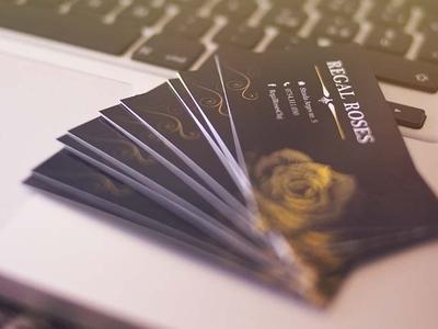 Regal Roses Business Card
