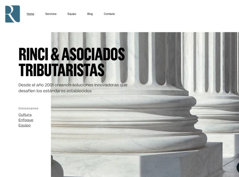 Estudio Rinci inspiration animation website web ux ui minimal flat design