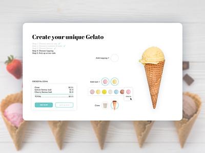 Gelato website concept. Part 2 website uxdevelopment ux uiwebsite uiux uitrends uidesigner uidesign ui design