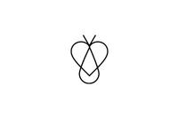 Bee Farm logo test concept (abstract)