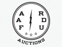 Auction Logo (vintage propaganda)