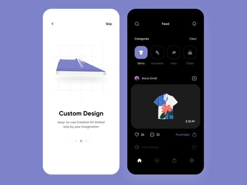 Project Darn - E&E Clothing Marketplace ecommerce app ecommerce store app store clothing mobile ui mobile app mobile ios app ux ui minimalistic interface clean