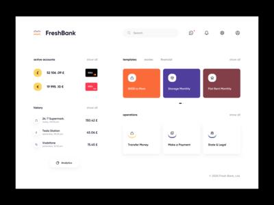 Bank Web App web app dashboard app dashboard ui dashboard web design website web ux ui minimalistic clean