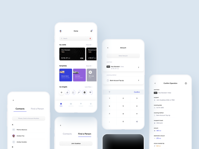 Chronos Bank banking app bank card bank bank app banking finance app financial finance fintech app fintech mobile app design mobile app mobile ios interface app ux ui minimalistic clean
