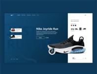Nike - web design