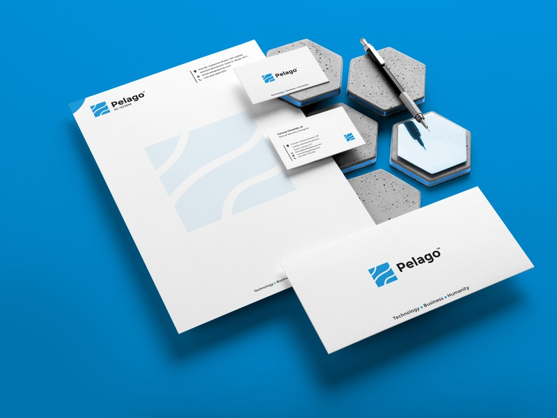 Pelago Brand Identity identity flyer design ui logo design graphics design branding logo