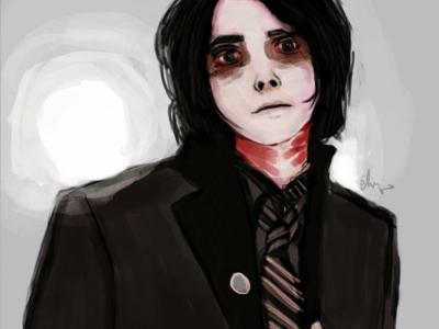 Strangle digital painting illustration dark